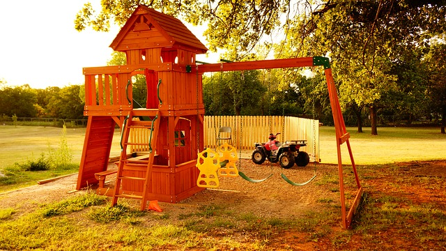 Dětské hřiště na zahradě? Co bychom pro děti neudělali!