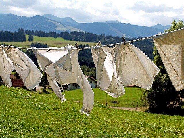 Prádlové šňůry